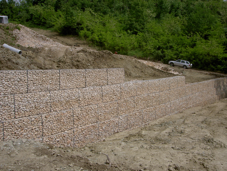 Frane e muri di sostegno de nardi srl for Consolidare un terreno
